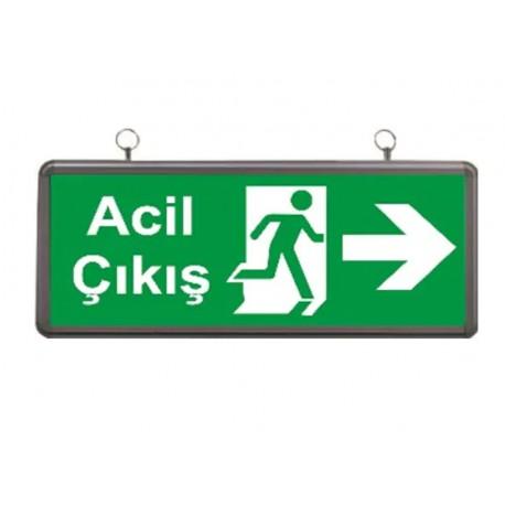 2W Exit Sağ Ok Yön. Armatürü