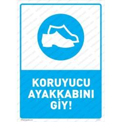 Korucu Ayakkabı Giy Levhası
