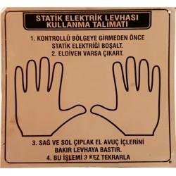 Çiftli Statik Elektrik Levhası
